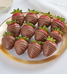 Decadent Milk Chocolate Strawberries
