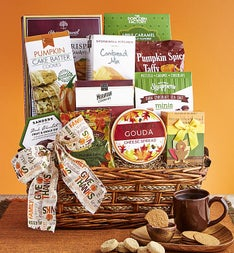 Autumn Feast Gourmet Gift Basket