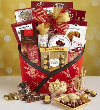 Chinese New Year With Love And Luck Gift Basket