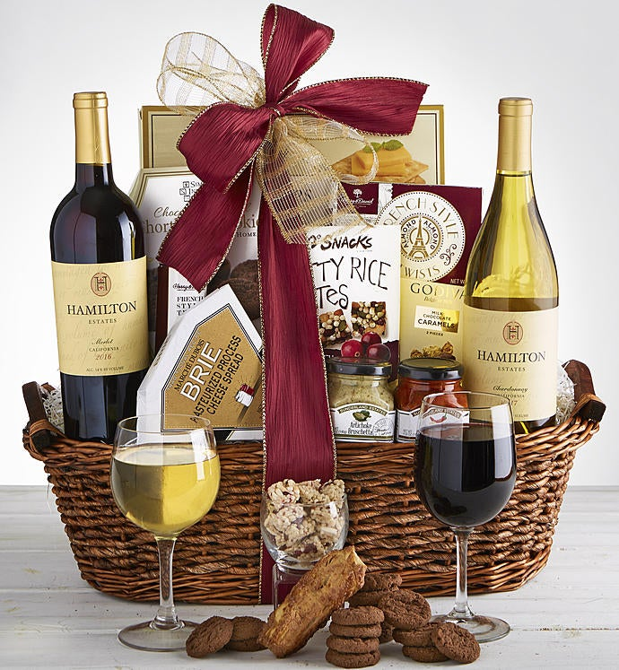 Sending Warm Thoughts Sympathy Wine Gift Basket & Sympathy Gift Baskets u0026 Sympathy Food Gifts | 1800Flowers.com
