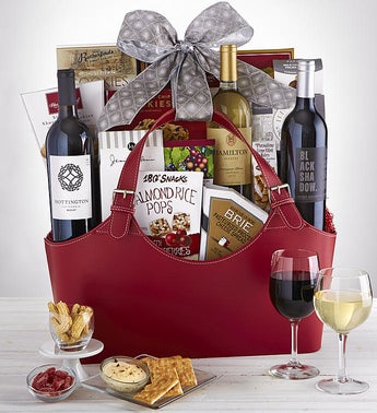 Timeless Traditions Wine Gourmet Gift Basket