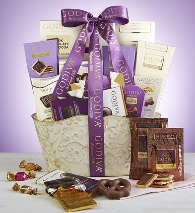 Godiva Sweets Gift Basket