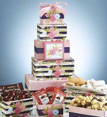 Bloomin Spring Sweets Tower