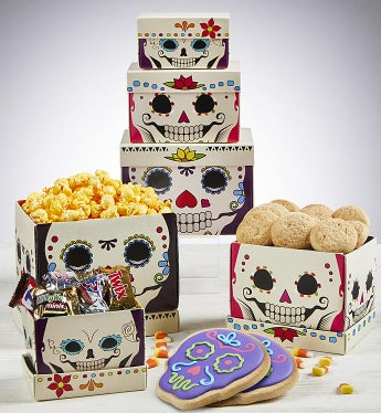 Day of the Dead Sweets Tower
