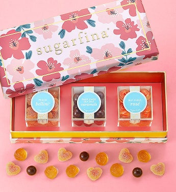 Sugarfina Spring Flowers Candy Bento Box 3pc