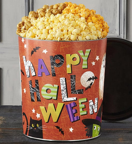Popcorn Factory Happy Halloween 3.5G 3-Flavor Tin