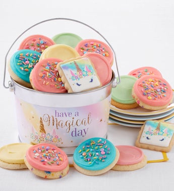 Cheryls Have a Magical Day Frosted Cookie Pail