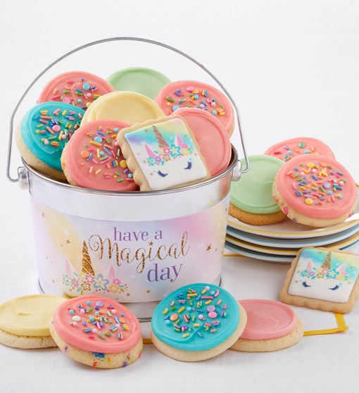 Cheryl's Have a Magical Day Frosted Cookie Pail