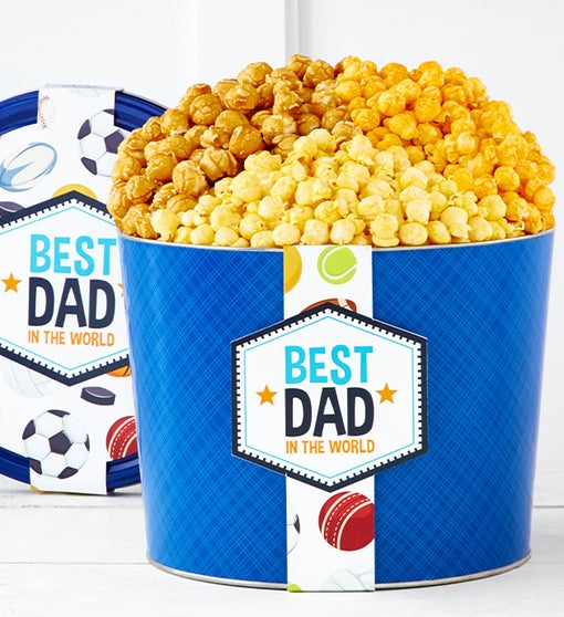 The Popcorn Factory Happy Father's Day 3 Flavor 2G Tin
