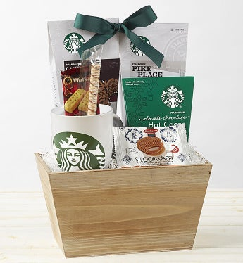 Starbucks® Coffee Break Gift Basket