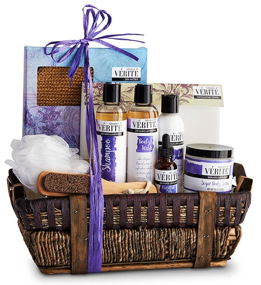 The Source Verite Lavender Relaxation Spa Basket