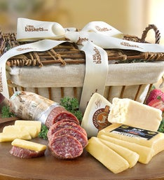 California Crafted Meat  Cheese Gift Basket