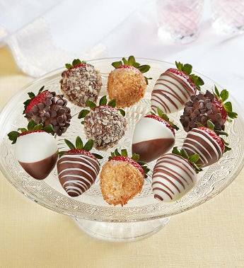 Decadent Deluxe Chocolate Covered Strawberries