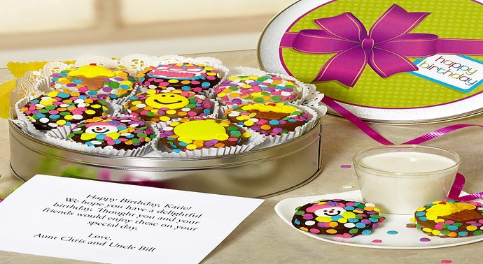 Cookie Gift Baskets Cookie And Cake Delivery 1 800 Flowers Com