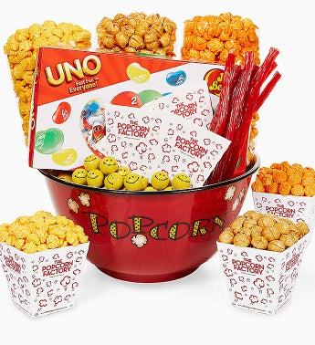 The Popcorn Factory® Bowl & Snacks