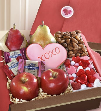 Very Special Valentine Fruit  Sweets Box