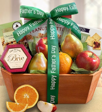 Fathers Day Fresh From The Orchard Fruit Basket