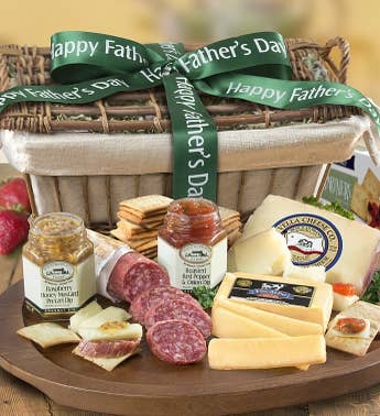 Father's Day Epicurean Meat & Cheese Gift Basket