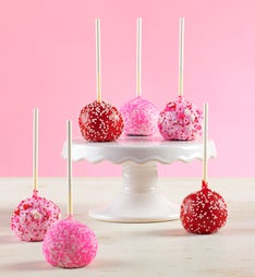 Decadent Happy Valentine's Day Truffle Cake Pops