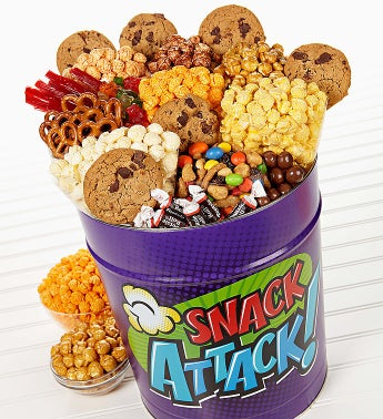 The Popcorn Factory® Snack Attack Deluxe Tin