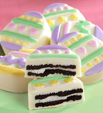 Sweet Easter Egg-Shaped Oreo® Cookies