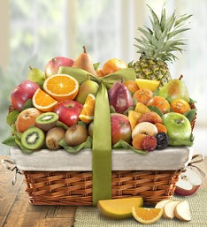 Premier Orchard Deluxe Fruit Gift Basket