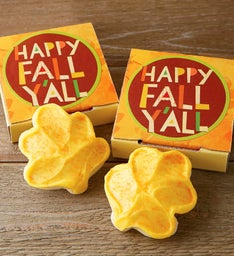 Happy Fall Y39all Cookie Card