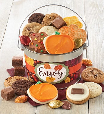 Fall Treats Pail - Enjoy
