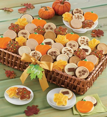 Fall Buttercream Cookie Gift Basket - Grand