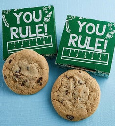 You Rule Cookie Card - Chocolate Chip