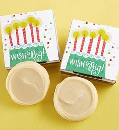 Gluten Free Wish Big Birthday Cookie Card