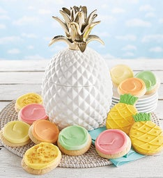 Collector39s Edition Pineapple Cookie Jar