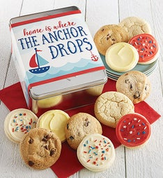 Home is Where the Anchor Drops Gift Tin