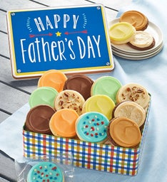 Father's Day Gift Tin Frosted