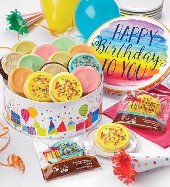 Birthday Gift Tin – Frosted Assortment