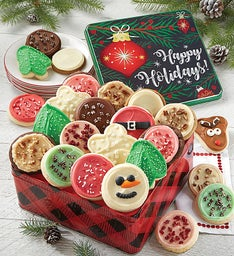 Premier Happy Holidays Gift Tin - Assorted