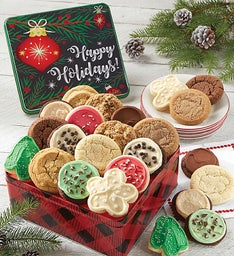 Premier Happy Holidays Gift Tin - Create Your Own
