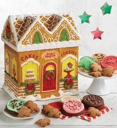 Collector's Edition Gingerbread House Cookie Jar