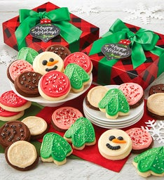 Warmest Wishes Frosted Cookie Gift Box