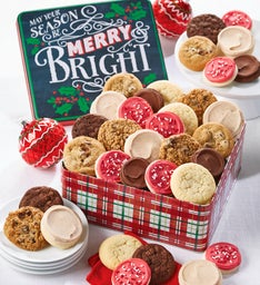 Merry and Bright Assorted Gift Tin