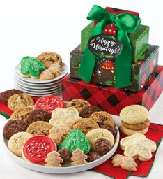 Cheryl39s Holiday Treats Tower