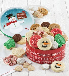 Snowman Gift Tin - Treats