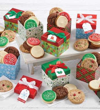 Holiday Present Boxes - Case of 8