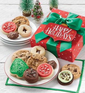 Happy Holidays Holiday Treats Box