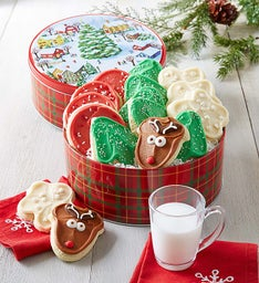 Holiday Tidings Gift tin - 16 Cut-outs