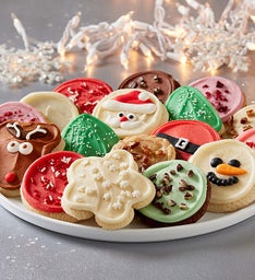 Festive Buttercream Frosted Cookie Assortment