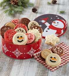 Holiday Cheer Gift Tin -16 Cookies