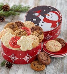 Holiday Cheer Gift Tin - Create Your Own - 16 cookies