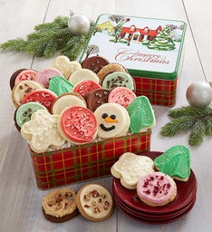 Home For The Holidays Gift Tin - Merry Christmas