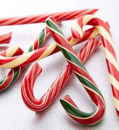 Holiday Candy Canes - Set of 6